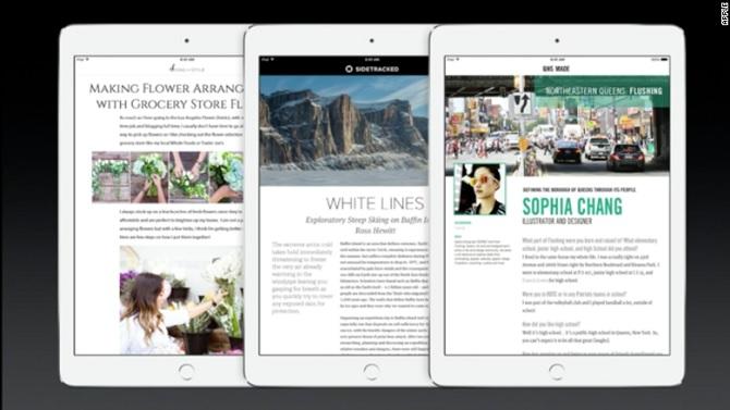 Các nhà quảng cáo không hài lòng với ứng dụng tin tức sắp tới của Apple