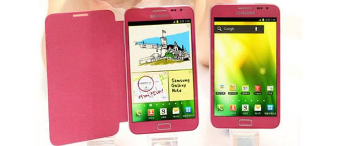 Samsung Galaxy Note màu hồng xuất hiện