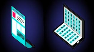 Samsung Project Valley, dự án smartphone màn hình có thể gập lại
