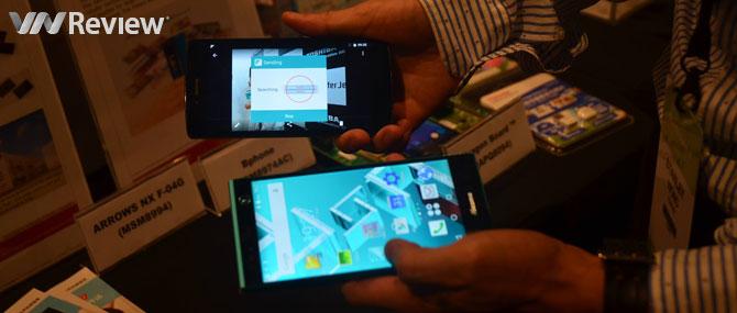 Xuất hiện smartphone thứ 2 trên thế giới của Fujitsu sử dụng TransferJet sau Bphone