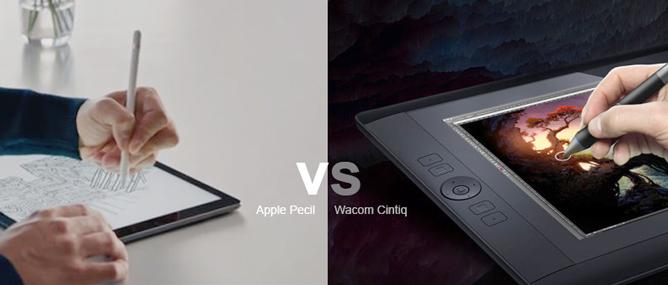 Apple Pencil khó thay thế vị trí Wacom trong ngành thiết kế?