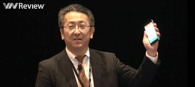 Toshiba trình diễn Bphone tại Hội nghị thượng đỉnh về di động