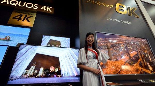 Sharp ra mắt TV 8K đầu tiên trên thế giới, giá gần 3 tỷ đồng!