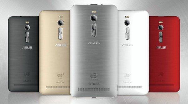 Asus Zenfone 2 thêm bản RAM 4 GB mới, giá 230 USD