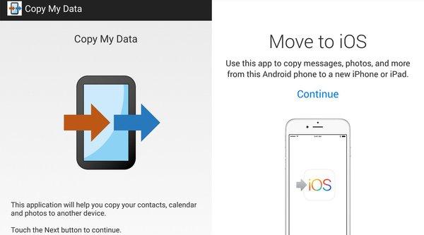 Nghi án Apple copy ứng dụng Android sửa tên thành Move to iOS