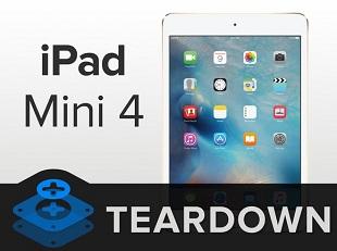 iFixit mổ iPad Mini 4: RAM 2GB, khó sửa chữa