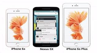 Nexus 5X lộ ảnh đọ dáng cùng iPhone 6s, 6s Plus