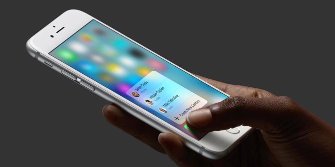 Bộ đôi iPhone 6s và 6s Plus là những sản phẩm đầu tiên được trang bị công  nghệ màn hình mới có tên 3D Touch. Tính năng công nghệ này cho phép ...