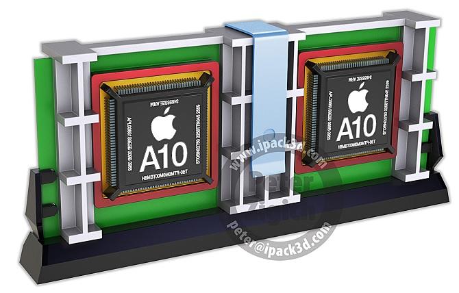 Chip Apple A10 sẽ có 6 nhân
