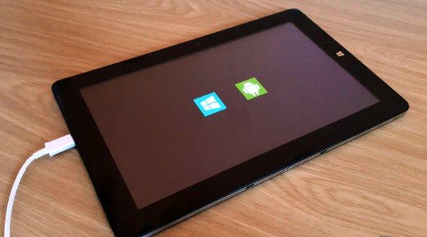 Tablet Chuwi Hi10 chạy cả Android 5.1 và Windows 10