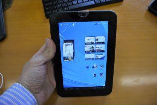 Cận cảnh máy tính bảng Toshiba Thrive 7-inch mới