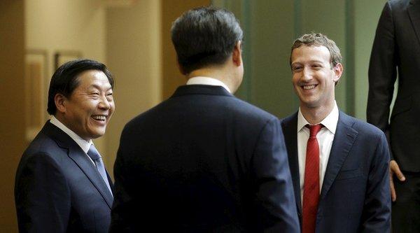 CEO Facebook bàn chuyện kiểm soát Internet với Tập Cận Bình