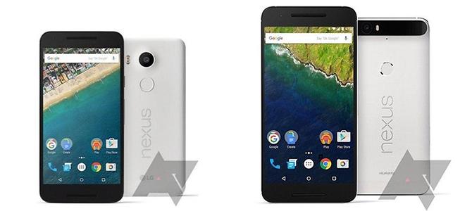 Chân dung cặp đôi Nexus 2015: Nexus 5X và Nexus 6P