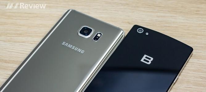Đọ hiệu năng Galaxy Note 5 với Bphone