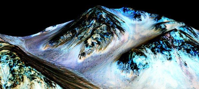 NASA xác nhận có nước trên sao Hoả