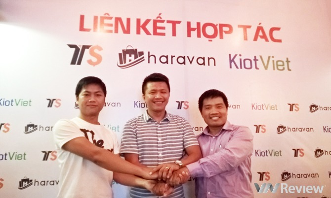 Haravan công bố hợp tác với Thị Trường Sỉ và KiotViet