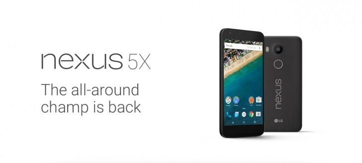 Thông số và cấu hình chính thức của Google Nexus 5X