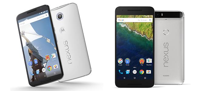 Nexus 5X và Nexus 6P chính thức ra mắt