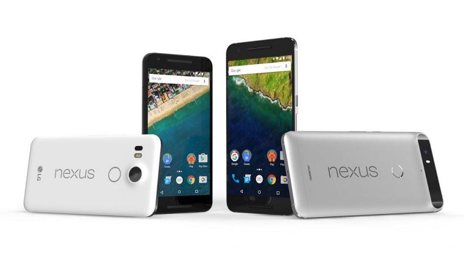 Cận cảnh Nexus 5X và Nexus 6P