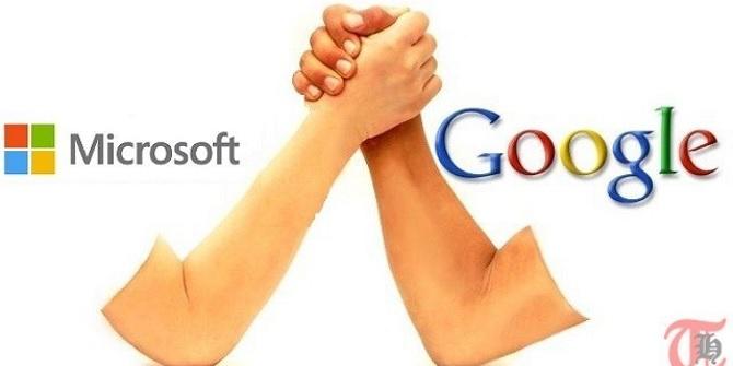 Google và Microsoft chấm dứt cuộc chiến bản quyền lâu năm