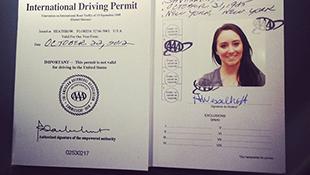 Chưa thể cấp giấy phép lái xe quốc tế cho người Việt