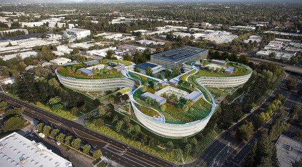 Apple xây tiếp trụ sở 'cánh hoa' mới ở Sunnyvale?