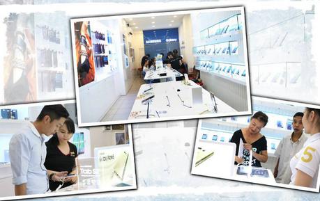 FPT Shop ra mắt chuỗi cửa hàng cao cấp Samsung