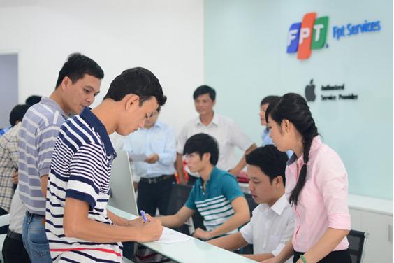 FPT Services mở trung tâm bảo hành sản phẩm Apple thứ ba