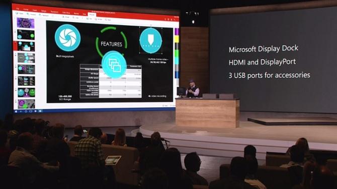 Microsoft giới thiệu tính năng Continuum trên điện thoại giúp kết nối với các màn hình lớn hơn