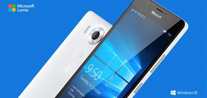 Microsoft Lumia 950: màn 5.2 inch 2K, Snapdragon 808, Windows 10, tản nhiệt chất lỏng