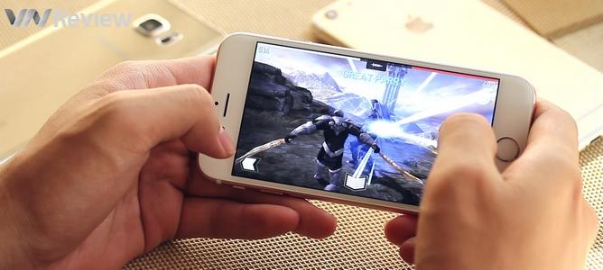 """iPhone 6s cho Galaxy Note 5 và iPhone 6 Plus """"hít khói"""" về hiệu năng"""