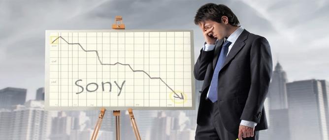 Sony lỗ kỷ lục 6,4 tỉ USD