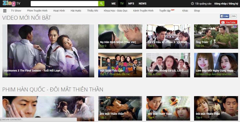"""Các website giải trí ở Việt Nam và câu chuyện """"bản quyền"""" nửa vời"""