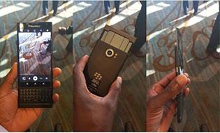 Lộ ảnh trên tay BlackBerry Priv, mỏng hơn Note 5