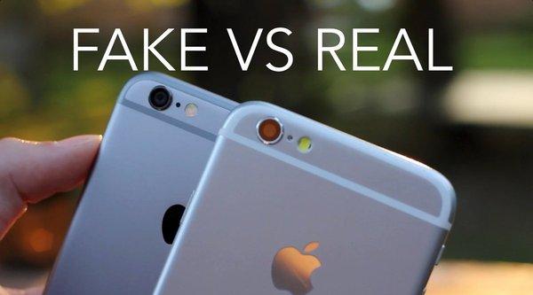 Trung Quốc ngập iPhone 6s giả giá 100 USD