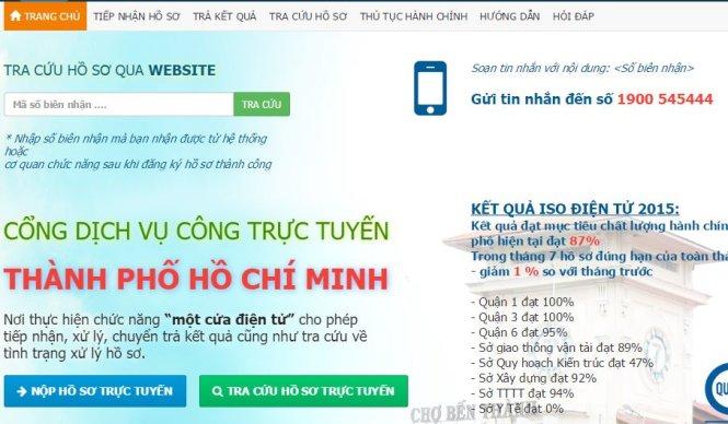 Lập cổng quốc gia tích hợp tất cả dịch vụ công trực tuyến