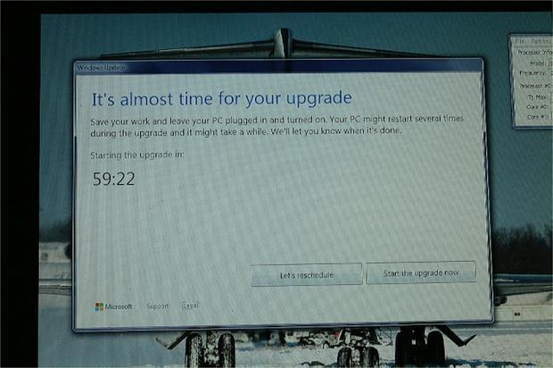 Một số người dùng Windows 7 và Windows 8.1 kém may mắn không có cách nào để tránh khỏi cảnh buộc phải cập nhật lên Windows 10.