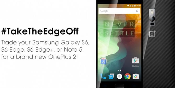 OnePlus mở chương trình đổi smartphone Samsung Galaxy lấy OnePlus 2