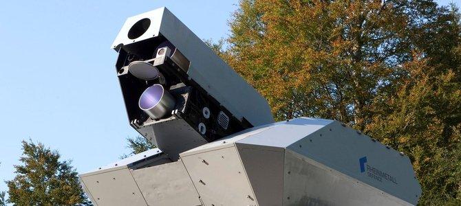 Tìm hiểu hệ thống phòng vệ bằng laser Rheinmetall HEL của Đức (phần đầu)