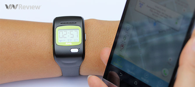 Đánh giá đồng hồ thông minh cho trẻ em Kiddy của Viettel
