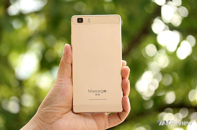 Trên tay smartphone giá rẻ Massgo Vi5