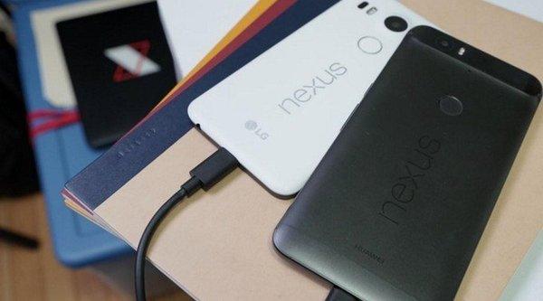 Có thể sạc Nexus 5X bằng Nexus 6P qua cổng USB Type-C