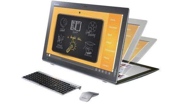 Lenovo Yoga Home 900 trình làng, tablet kiêm desktop 27 inch