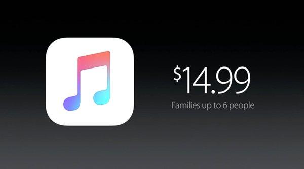 Apple Music có 15 triệu người dùng nhưng chỉ 6,5 triệu có trả phí