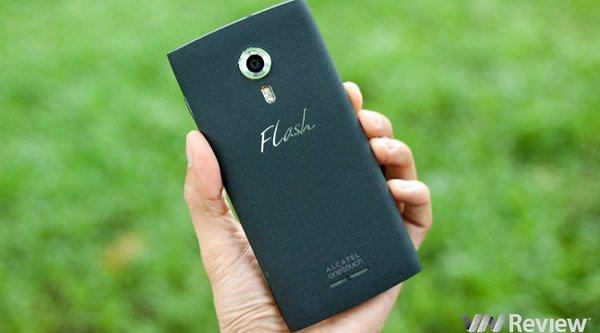Trên tay smartphone 'cấu hình khá giá rẻ' Alcatel Flash 2