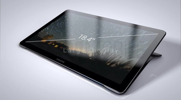 Lộ ảnh chi tiết tablet Galaxy View, không còn nút Home cứng