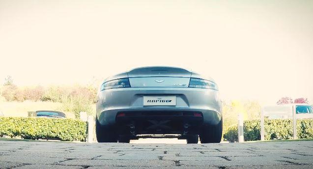 Aston Martin giới thiệu siêu xe chạy điện RapidE