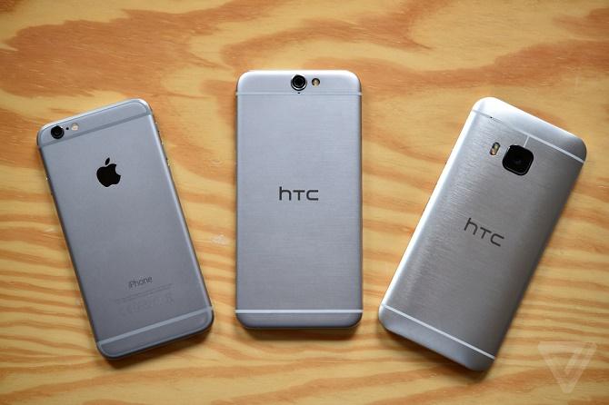 iPhone 6 - HTC One M7 và A9: Ai đã copy ai?
