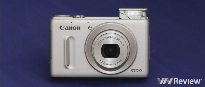 Đánh giá Canon PowerShot S100