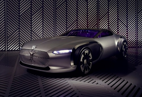 Renault giới thiệu mẫu siêu xe Coupé C đầy táo bạo